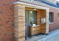 Haus Selber Gestalten - vorbau hauseingang anbau holz modern bauen vorgarten