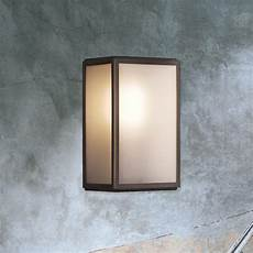 frosted glass outdoor wall light cl 33805 e2 contract lighting uk
