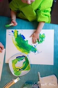 Malen Mit Kleinkindern Tipps F 252 R Farben Und Das Bunte