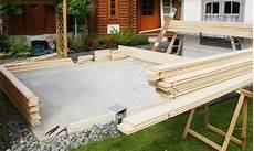 Was Kostet Beton Für Bodenplatte - fundament f 252 r gartenhaus