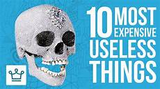 10 Most Expensive Useless Things