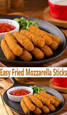 easy fried mozzarella sticks recipe all cooks