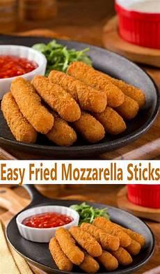 easy fried mozzarella sticks recipe all she cooks