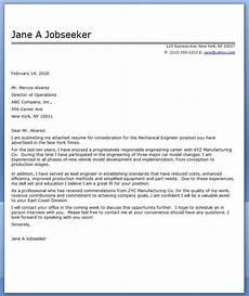 cover letter mechanical engineer sle resume downloads
