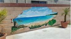 beton gartenmauer streichen block fence mural garden fence fences