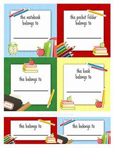 kids school labels printables and templates pinterest lunch box notes back to school