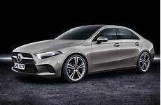 New Mercedes A Class Saloon To Rival Four Door Audi