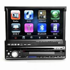 1 din navi 7 inch single din dvd player with gps navi bluetooth tv hd