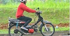 Modifikasi Motor Bebek Honda by Modifikasi Motor Bebek Honda Astrea Grand Pakai 2 Slinder
