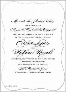 Wedding Invitation Wording For Blended Families