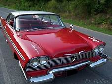 1958 Plymouth Fury Red Sports Cars Make My Heart Melt