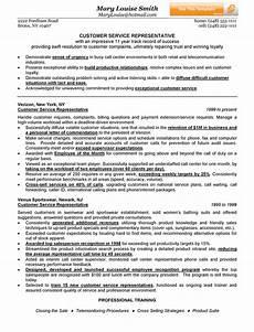 customer service representative customer service resume exles customer service resume