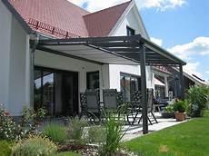 Dach Terrasse Windschutz Segel - terrassen 252 berdachung aus aluminium mit glas oder