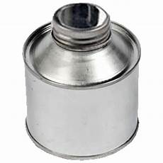 250ml metal cone top tin with 38mm neck metal cap