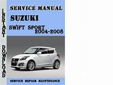 automotive service manuals 2000 suzuki swift security system suzuki swift sport 2004 2008 service repair manual pdf tradebit