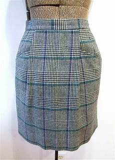 plaid adulte personnalisé wool plaid mini skirt singles and