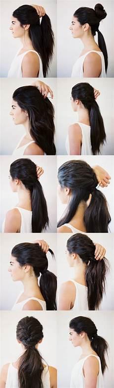 diy tousled layered ponytail diy weddings oncewed com