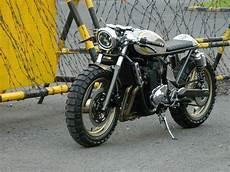 suzuki bandit 400 cafe racer by jowo kustom bikebound
