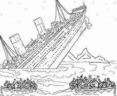 titanic coloring pages to and print for free
