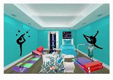 s gymnastics room by aunaleis polyvore featuring