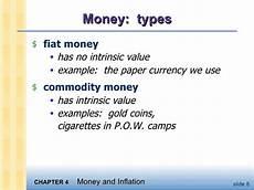 Fiat Money Definition Economics by Macroeconomics Ch4