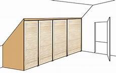 dachschräge schrank selber bauen einbauschrank selbst bauen dachschr 228 ge regale