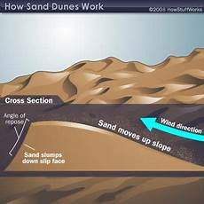 sand dune formation howstuffworks