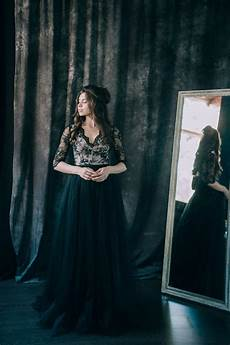 30 of the most stunning black wedding dresses chic