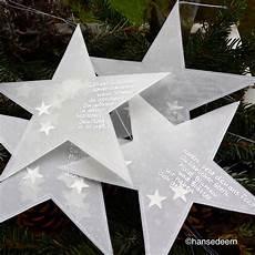 Sterne Aus Transparentpapier 228 Ht Gef 252 Llt Mit Vielen