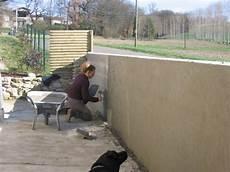 mur en crepis le crepis du mur de devant guit
