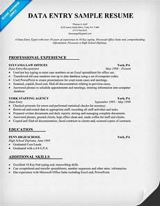 data entry resume sle resumecompanion com admin resume sles across all industries