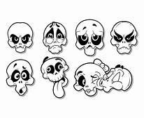 Free Cartoon Skull Vector Art & Graphics