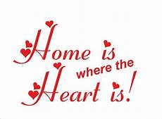 home is where the heart is quote sticker decal vinyl wall art decoration hh1 ebay