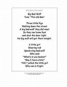 tale lesson plans for toddlers 15004 big bad wolf rhyme from http www makinglearningfun t template asp t http www makin