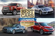 2017 best vehicle brand awards u s news world report