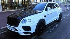 Mansory Bentley Bentayga Spotted In