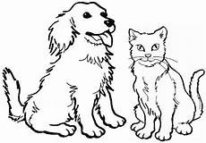 Ausmalbilder Hund Katze Pferd Best Coloring Page Puppy Pictures To Color