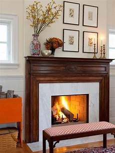 Decorating Ideas For The Fireplace by Fireplaces Brick And More Hgtv