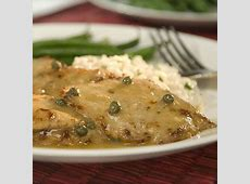 veal scallops with lemon and capers_image
