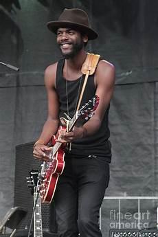 gary clark jr guitarist gary clark jr photograph by concert photos