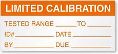 limited calibration labels