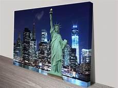 new york wall print on canvas