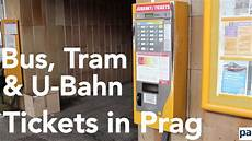 U Bahn Tickets Kaufen In Prag So L 246 St Fahrkarten F 252 R