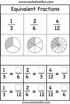 equivalent fractions worksheets printable worksheets fractions equivalent fractions math