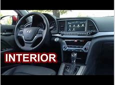 2017 Hyundai Elantra   INTERIOR   YouTube