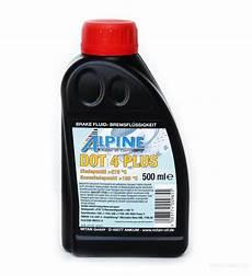 жидкость тормозная alpine brake fluid dot 4 plus 1 л