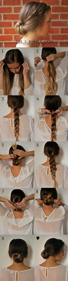 5 Minute Hairstyles For 19 pretty hairstyles with tutorials pretty designs