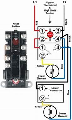 Wiring Diagram For Electric Water Heater