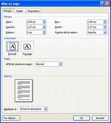 mise en page word word 2007 mise en page