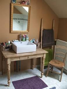 faire meuble de salle de bain bureau ancien patine d 201 tourn 201 en meuble vasque de salle